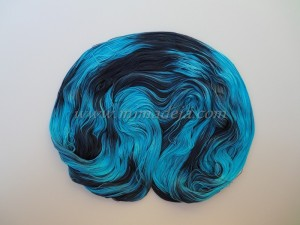 Mariposa azul Silk 2