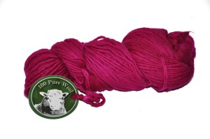 Worsted 1 ply Happy Rose a