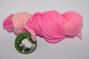 Worsted 1 ply Hasen A