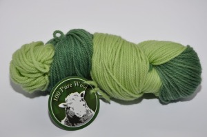 Worsted 3 ply Forest of Pines a