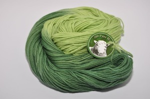 Worsted 3 ply Forest of Pines b