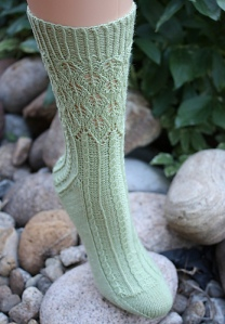 Banyan Tree Socks by Debbie O'Neill. Otro par más ;)
