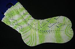Diamond chain Socks de Wilma Becker.