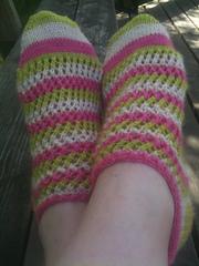 Follow The Leader Socks de Sarah Jane Dunlop.