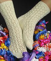 Sanowflake Lace Socks de Melanie  Berney.